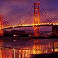 Golden Gate At Bakers Beach by Christine Holding