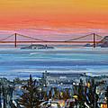 Golden Gate At Twilight by Robert Gerdes