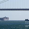 Golden Gate Bridge 3 by Mary Mikawoz