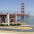 Golden Gate Bridge And Bike Path by Bruce Frye