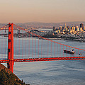 Golden Gate Bridge And San Francisco 1 by Lee Kirchhevel