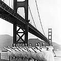Golden Gate Bridge Ballet by Underwood Archives