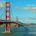 Golden Gate Bridge by Emmy Marie Vickers