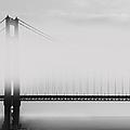 Golden Gate Bridge - Fog And Sun by Ben and Raisa Gertsberg