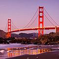 Golden Gate Bridge From Baker Beach by Alexis Birkill