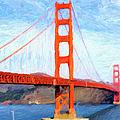Golden Gate Bridge by Gravityx9  Designs