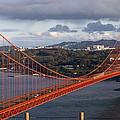 Golden Gate Bridge Overlook by Tim Atwater