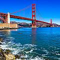 Golden Gate Bridge San Francisco Bay by Scott McGuire