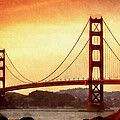 Golden Gate Bridge San Francisco California by Fine Art
