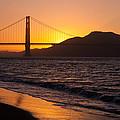 Golden Gate Bridge Sunset by Donna Doherty