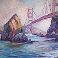 Golden Gate by Elena Sokolova