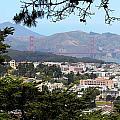 Golden Gate From Buena Vista Park by Robert Woodward