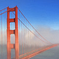 Golden Gate In Morning Fog by Dominic Piperata