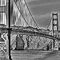 Golden Gate Over The Bay 2 by SC Heffner