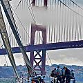 Golden Gate Sailing by Steven Lapkin