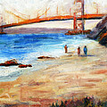 Golden Gate Stroll by Carolyn Jarvis