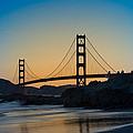 Golden Gate Sunrise by Steve Gadomski