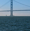 Golden Gate - The Fog Is Lifting by J H Clery