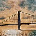 Golden Gatepost by Chris Coyle