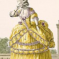 Golden Gown, Engraved By Dupin, Plate by Pierre Thomas Le Clerc