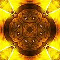 Golden Harmony - 2 by Shawna Rowe
