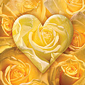 Golden Heart Of Roses by Alixandra Mullins