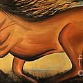 Golden Horse by Preethi Mathialagan