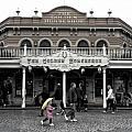 Golden Horseshoe Frontierland Disneyland Sc by Thomas Woolworth