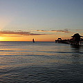 Golden Hour At Naples Pier by Christiane Schulze Art And Photography
