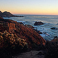 Golden Hour On Garrapata by Kathy Yates