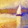 Golden Hour Sailing by Lutz Baar