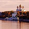 Golden Hour. Yaroslavl. Russia by Jenny Rainbow