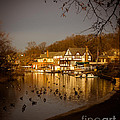 Golden Light At Boathouse Row by Tom Gari Gallery-Three-Photography