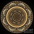 Golden Mandala by Martin Capek