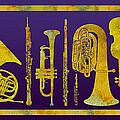 Golden Orchestra by Jenny Armitage