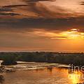 Golden Payette River by Robert Bales