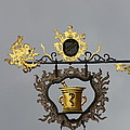 Golden Pharmacy Sign by Christiane Schulze Art And Photography