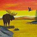 Golden Pond by Doug Wilkie