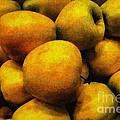 Golden Renaissance Apples by RC DeWinter