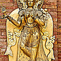 Golden Sculpture In A Hindu Temple In Patan Durbar Square In Lalitpur-nepal by Ruth Hager