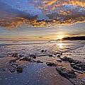 Golden Sky Lyme Regis by Ollie Taylor