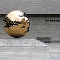 Golden Sphere By The Berkeley Library by Menega Sabidussi