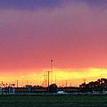 Golden Spike Sunset by Sylvia Thornton