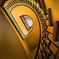 Golden Staircase by Jaroslaw Blaminsky