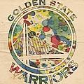 Golden State Warriors Logo Art by Florian Rodarte