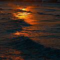 Golden Sun Set by Jeffrey Cohen