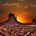 Golden Sunrise by Fred Hahn
