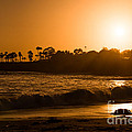 Golden Sunset At Laguna by Michael Ver Sprill