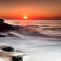 Golden Sunset by Edgar Laureano