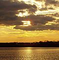 Golden Sunset by John Telfer